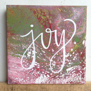 Joy canvas