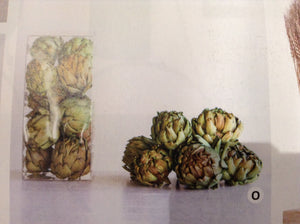 Dried Natural Artichokes-set of 6