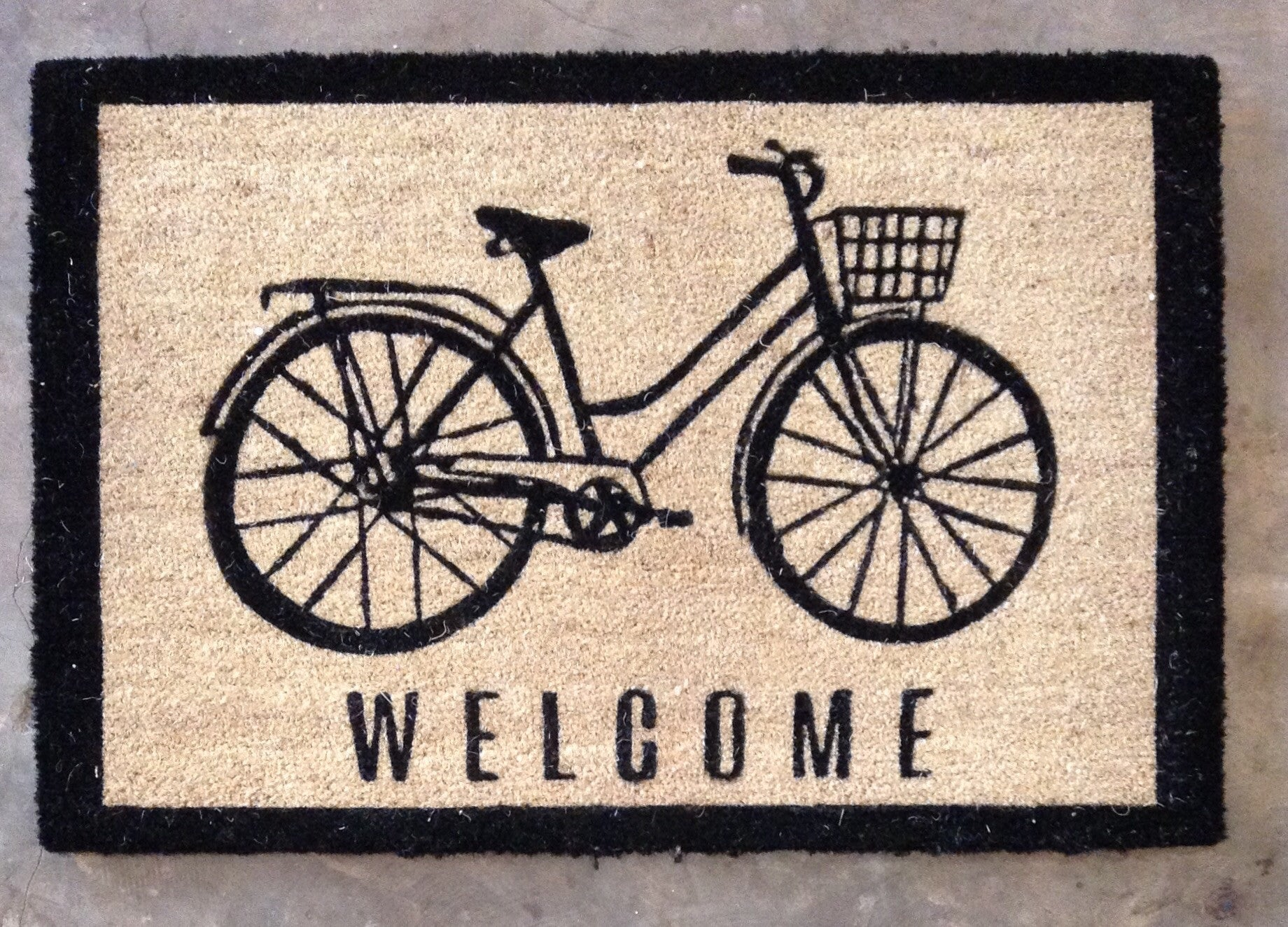 Bicycle Welcome Mat