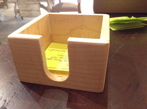 Post It note boxes