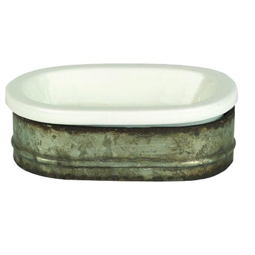 Metal Soap Dish
