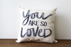So Loved Pillow