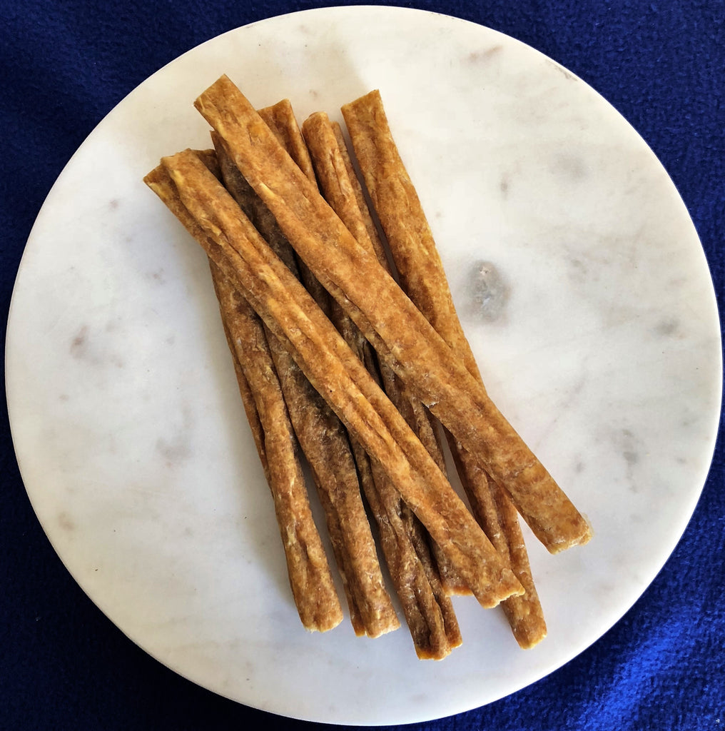 Chicken mince sticks - Heidi's Doggie Treats