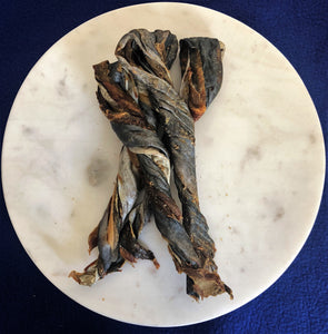 Mackerel Skin Twists - Heidi's Doggie Treats