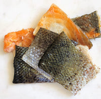 Salmon Skin Dehydrated -120 g