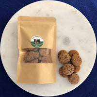 Banana and blueberry dog biscuits - Heidi's Doggie Treats