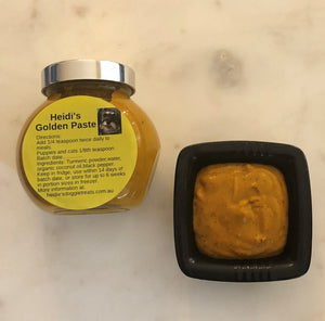 Golden paste for dogs and cats - Heidi's Doggie treats