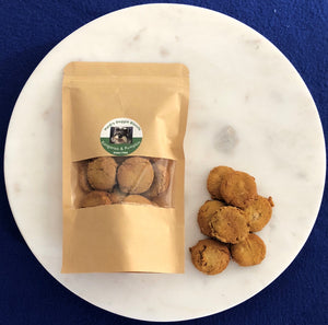 Kangaroo and pumpkin dog biscuits