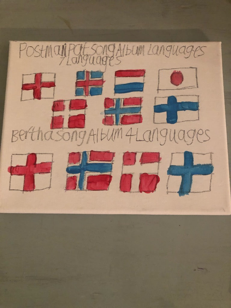 Languages Painting