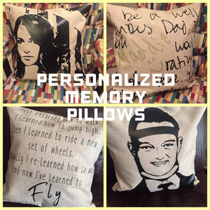 Personalized Memory Pillows