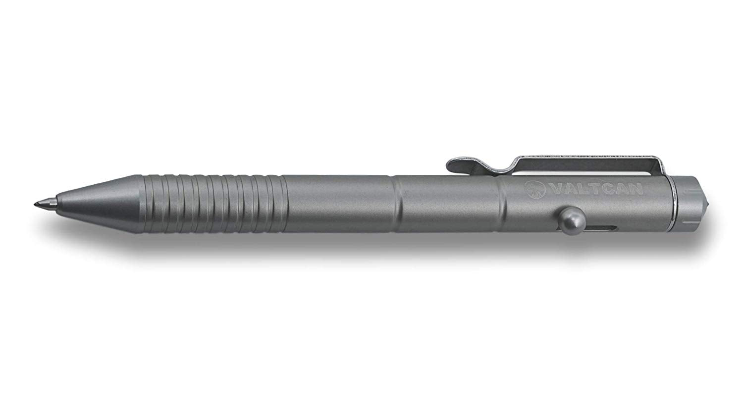 Valtcan Impel Titanium Bolt Pen EDC Military Matte Space Grey