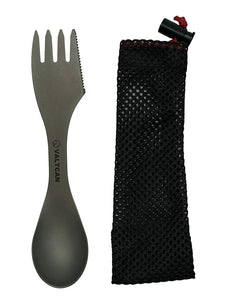 "Valtcan Titanium ""Food Shovel"" Spork 3-in-1 Utensil"