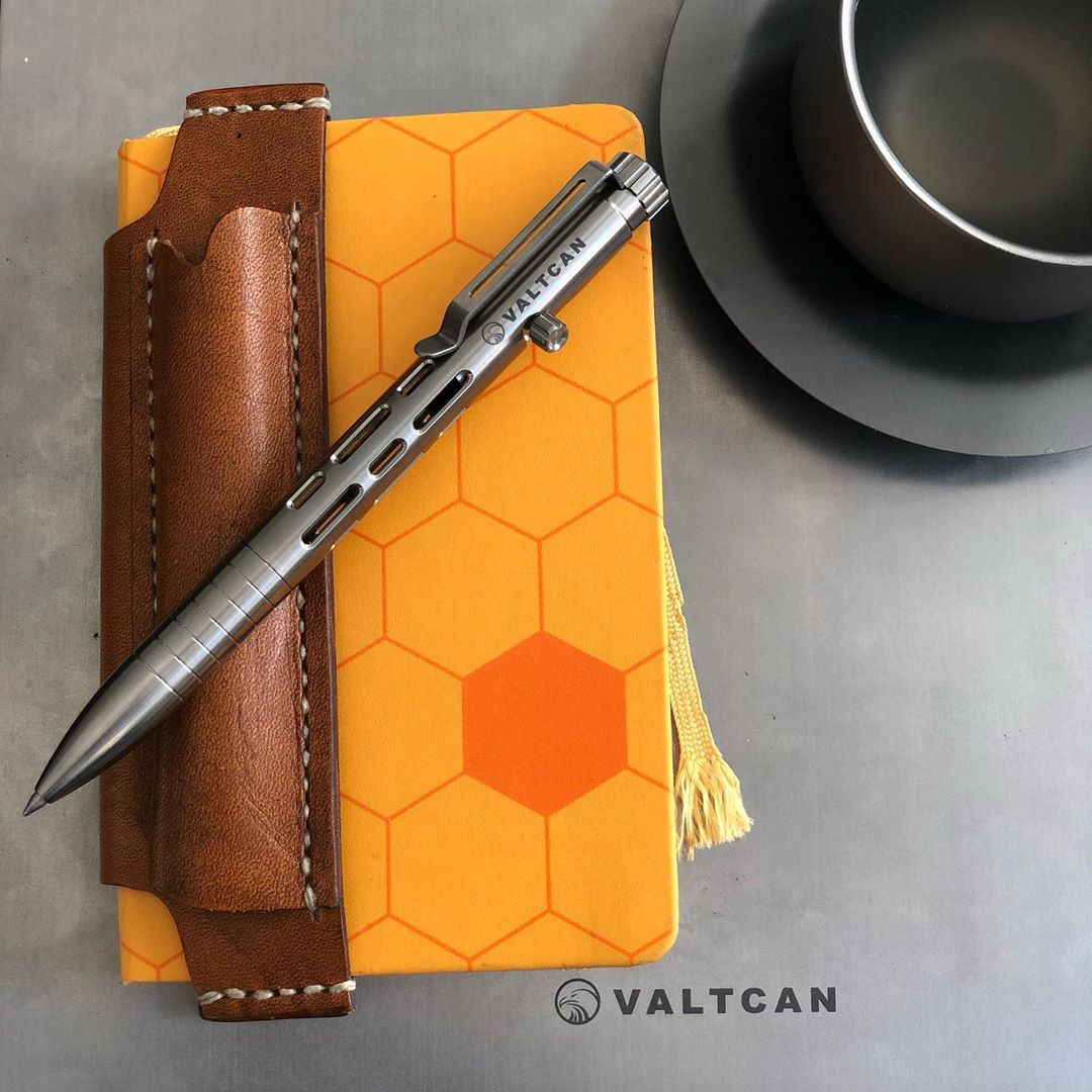 Valtcan Titanium CyberPen Bolt Pen Polished
