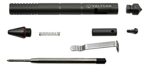 Valtcan Titanium Bolt Military Pen Gear for EDC Space Black