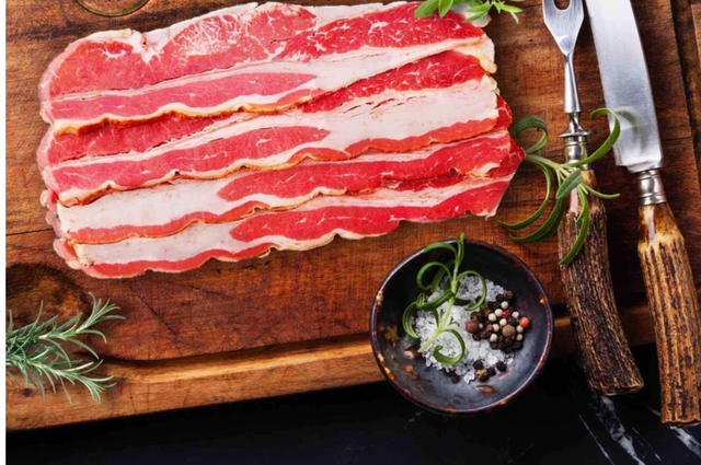 Halal Turkey Bacon / 1lb-TURKEY-MOVE HALAL