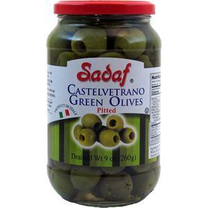 Sadaf Castelvetrano Green Olives Pitted