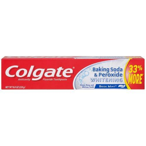 Colgate Baking Soda & Peroxide Toothpaste