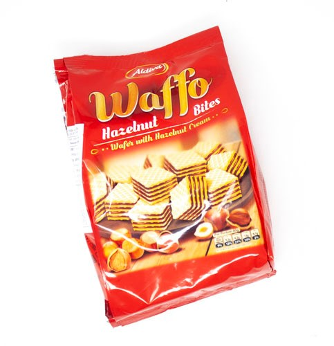 Waffo Hazelnut Bites-Snacks-MOVE HALAL