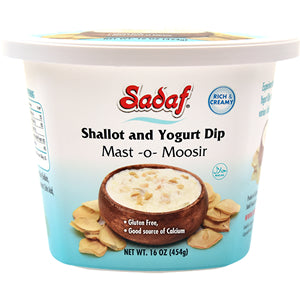 Shallot Yogurt Dip Mast Moosir