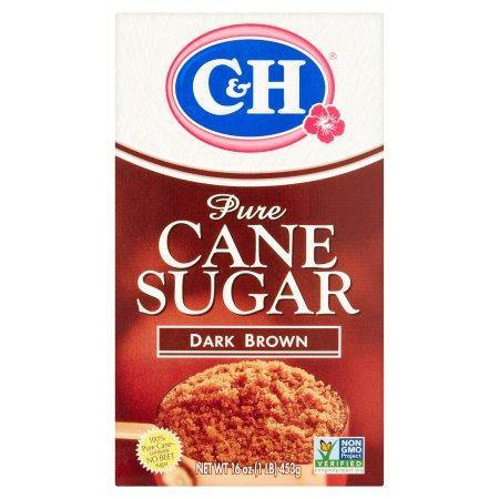 Dark Brown Pure Cane Sugar