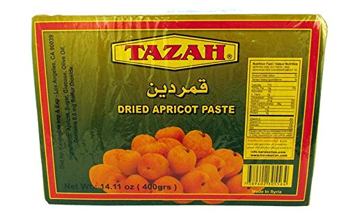 Tazah Dried Apricot Paste 14.11 Oz / 400 Gr
