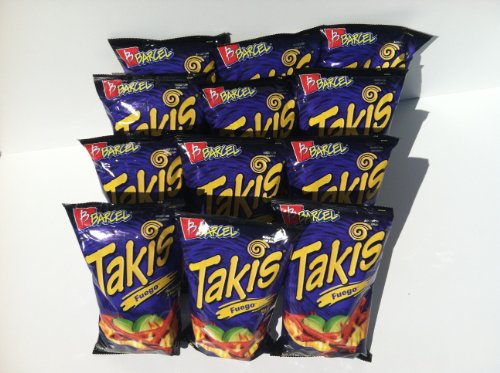 Barcel Takis Fuego Hot Chili Pepper & Lime Tortilla Chips