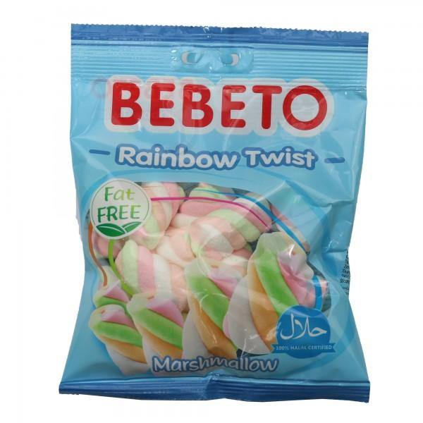 Beebto Rainbow Twist Halal Marshmallow-Snacks-MOVE HALAL