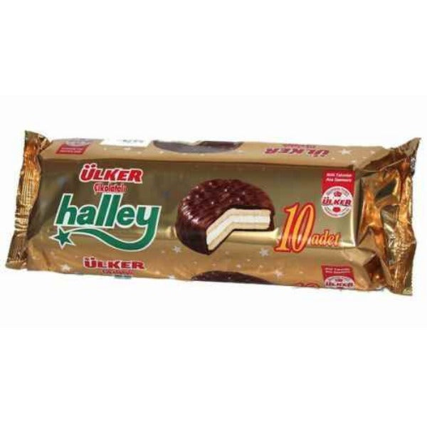 Ulker Halley Marshmallow Biscuits-Snacks-MOVE HALAL