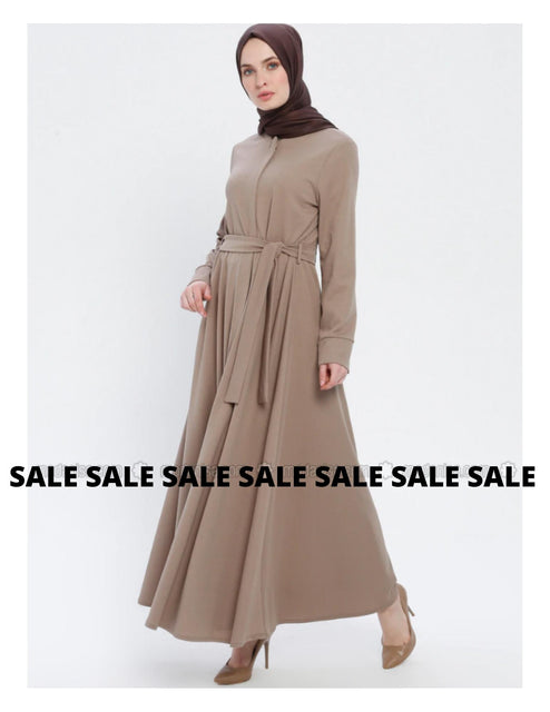 Miss Cazibe Minc - Unlined - Crew neck - Abaya-Clothing-MOVE HALAL