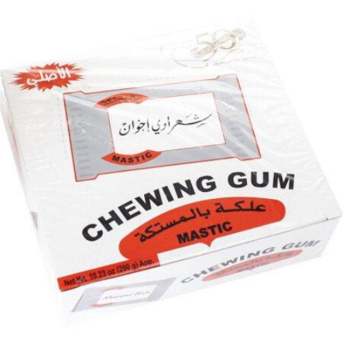 Sharawi Mastic Chewing Gum-علكة المستكة-MOVE HALAL