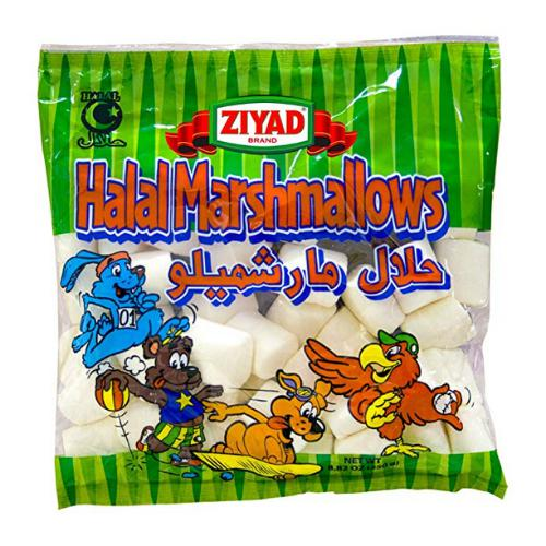 Halal Marshmallows Ziyad-Snacks-MOVE HALAL