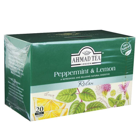 Ahmad Peppermint and Lemon Tea