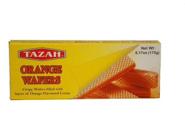 Tazah Orange Wafers-MOVE HALAL