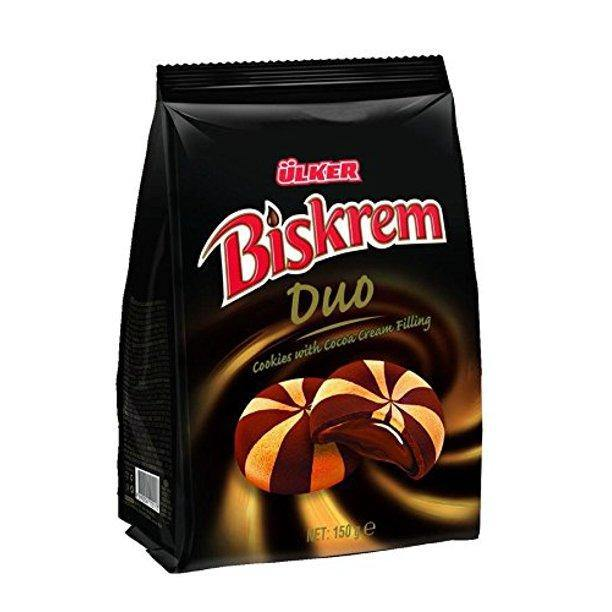 Biskrem Duo - Cocoa Cream Biscuits-Snacks-MOVE HALAL