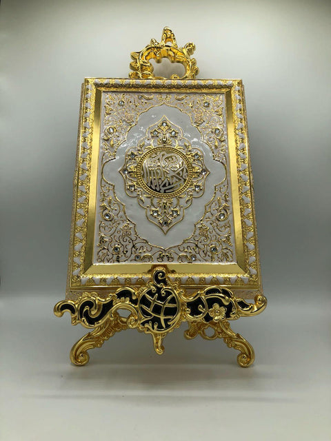 Gold & White Quran Ornamental Case
