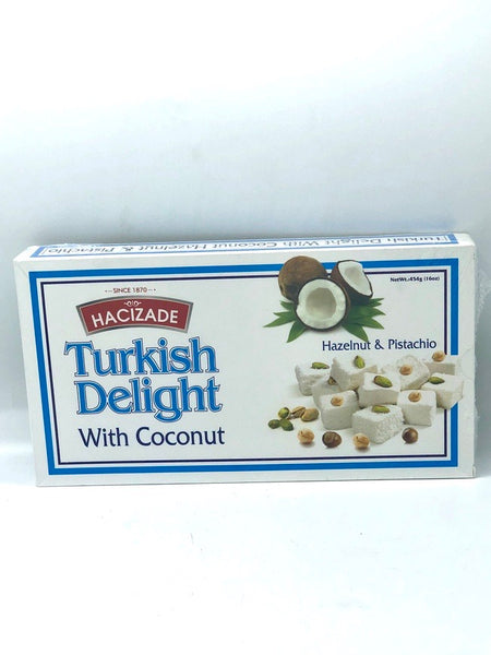 Turkish Delight w/ Coconut Hacizade