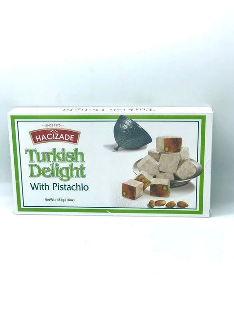 Turkish Delight w/ Pistachio Hacizade
