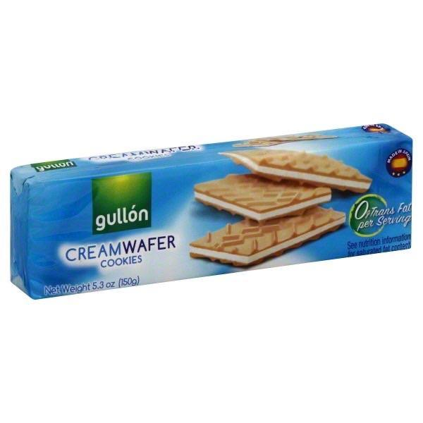 Gullon Cream Wafer Cookies