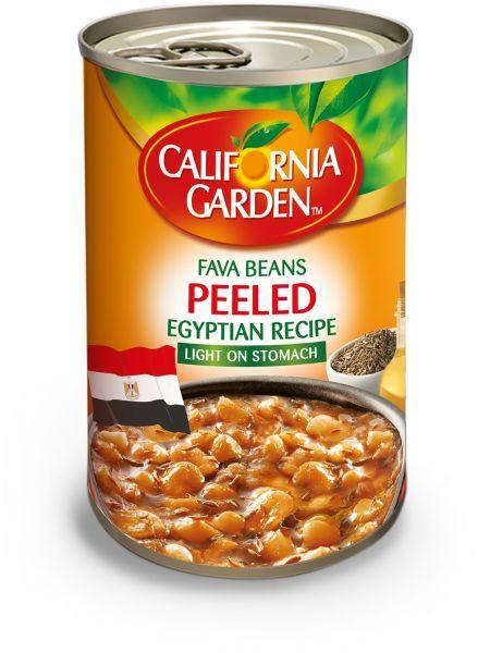 California Gardens Peeled Egyptian Receipe