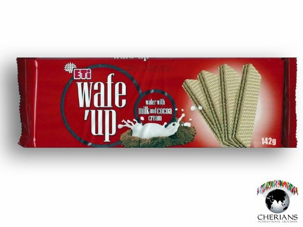 Wafe Up wafer milk Choclate Cream-MOVE HALAL