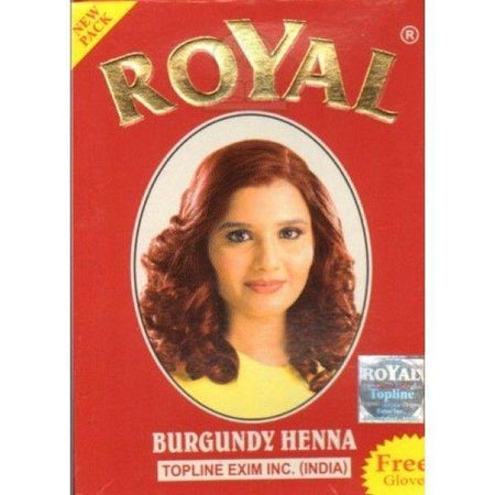 ROYAL Burgundy Henna