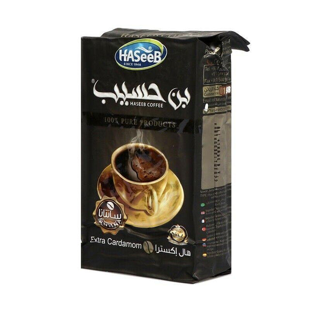 Haseeb Ground Turkish Coffee-Tea-MOVE HALAL