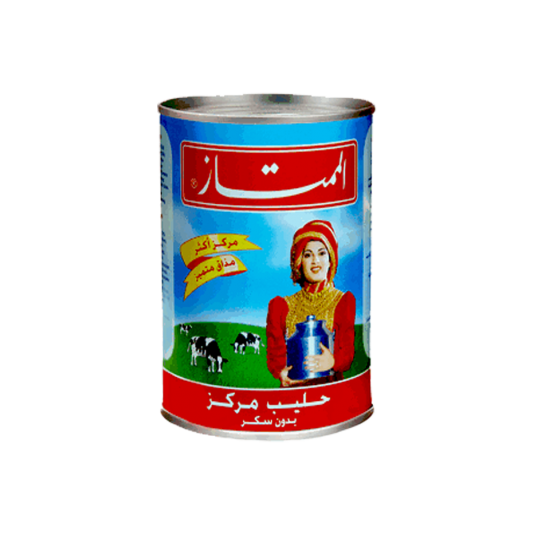 Almomtaz evaporated milk Unsweetened / حليب الممتاز