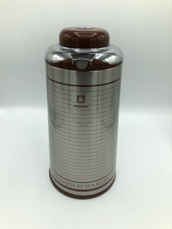Push-to-Pour Thermos-MOVE HALAL