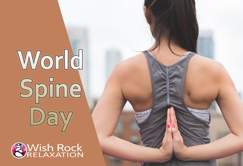 World Spine Day - Wish Rock Relaxation