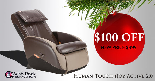 Human Touch iJoy Active 2.0 Massage Chair - On Sale Now.