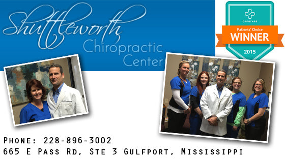 Shuttleworth Chiropractic Centre - Gulfport, MS