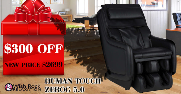 Human Touch ZeroG 5.0 massage chair - on sale now