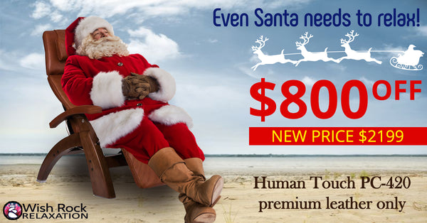 Human Touch Perfect Chair 420 HOliday Sale