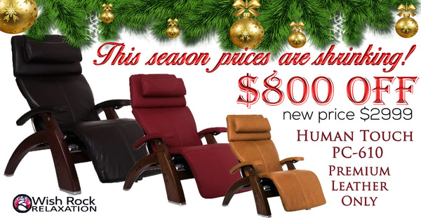 Human Touch Perfect Chair 610 Holiday Sale